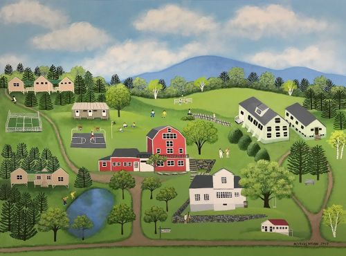 Kinhaven, VT Limited Edition Print